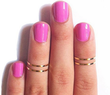 GroopDealz - 74% Off Set of 4 Midi Rings