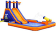 Blast Zone Buccaneer Inflatable Water Slide + $60 Kohls Cash