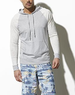 Adam Levine  Men's Colorblock Raglan Hoodie