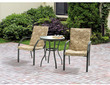 Mainstays 3-Piece Spring Creek Outdoor Bistro Set