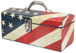 Sainty International 16 Old Glory Art Deco Tool Box
