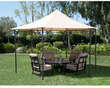 Pavillion Hexagon Roof Style Gazebo w/ Top Finial