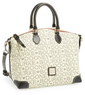 Dooney and Bourke Logo Jacquard Satchel