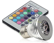 Magic Lighting 16-Color LED Light Bulb w/ Remote