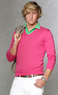 Men's Cashmere-Cotton V-Neck Sweater