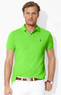 Men's Custom Stretch-Mesh Polo