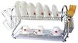 22 2-Tier Chrome Dish Rack