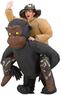 Inflatable Riding Gorilla Costume