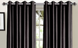 Bella Luna 38 x 84 Faux-Silk Foam-Back Blackout Curtains
