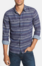 1901 Men's Herringbone Stripe Woven Shirt