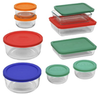 Pyrex 18-Piece Round Food Storage Set
