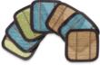 Set of Six Bamboo Coasters