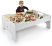 80-Pc. Deluxe Wooden Train Set & Table