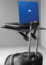 Devo Folding Travel Table for Laptops