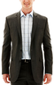 Claiborne Gray Twill Jacket