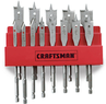 Craftsman 13-Piece Spade Bit Set with Storage Rack