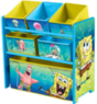 Character Corner Kids' Playroom Multi-Bin Toy Organizer