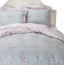 Simply Shabby Chic Faded Paper Rose Duvet Cover Set