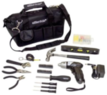 Essentials 34-Pc. Tool Kit w/ Cordless Screwdriver