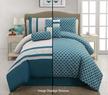 Victoria Classics 7-Piece Reversible Montero Comforter Set