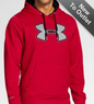 Men's UA Storm Armour Fleece Gametime Big Logo Hoodie