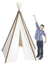 Pacific Play Tents Cotton Canvas 8' Teepee Tent