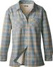 Women's Sherpa-Fleece-Lined Flannel Tech Shirt