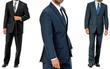 Vitto Italy Men's 2-Piece Suit