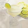 White-Rimmed Margarita Glass