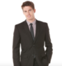 Men's Regular Fit Solid Suit Jacket