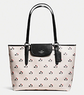 Coach Ward Bramble Rose Canvas Tote