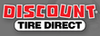 Discount Tire Direct - $100 Visa Prepaid Card on Select Sets of 4 Tires or 4 Wheels
