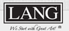 LANG - Free Shipping on $75+ Orders