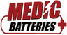 Medic Batteries - Free Penlight With $150+ Order