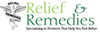 Relief & Remedies - Free Shipping on Entire Order