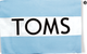 TOMS Shoes - $10 Off $100+ Toms Branded Order